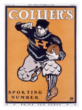 Colliers Havard Football Giclee Print