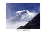 Mount Aspiring Reprodukcja zdjęcia autor AdventureArt