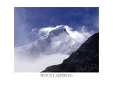 Mount Aspiring Photographic Print by  AdventureArt