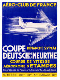 Aero Club France Air Race Giclee Print
