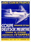 Aero Club France Air Race Giclee Print