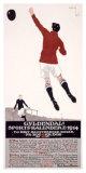 Gyldendal Sports Kalendere 1914 Giclee Print