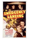 Forrest Tucker Emergency Landing Giclee Print