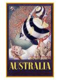 Australia Great Barrier Reef Reproduction procédé giclée par  Mayo