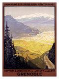 Grenoble Auto Giclee Print