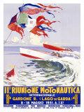 Riunione Montonautica Boat Race Giclee Print