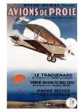 Aviation Air Show Giclee Print by Rene Peron