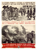 La Fuerza Spanish Revolution Giclee Print