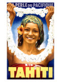 Tahiti, 1935 Giclee Print