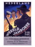 BSA Boy Scout, 5th World Jamboree Giclee Print
