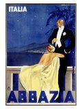 Abbazia Giclee Print by W. Zalina