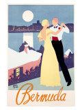 Bermuda Giclee Print by Adolph Treidler