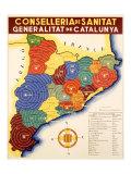 Spanish Civil War, Conselleria de Sanitat Giclee Print