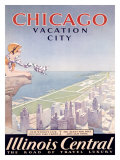 Chicago Illinois Central Tour Giclee Print