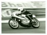 GP Motorcycle Impression giclée par Giovanni Perrone