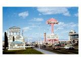 Las Vegas Strip, Flamingo Hotel Giclee Print