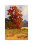 Red Trees II Limited Edition by Kim Coulter