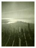Panorama Nowego Jorku Wydruk giclee