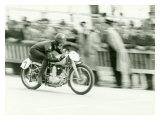 Mondial Motorcycle Road Race Wydruk giclee