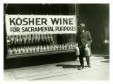 New York City, Kosher Wine Impression giclée