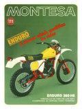 Montesa Motorcycle H6 Enduro Giclee Print