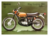 Montesa 250 King Scorpion Motorcycle Giclee Print