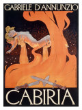 Roman Virgin Gabriele Theater Giclee Print