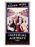 British Imperial Airways Giclee Print by Charles C Dickson