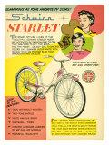 Schwinn Starlet Bicycle Giclee Print