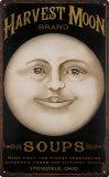Lune des moissons Plaque en métal