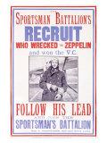 Sportsman's Battalion Giclee Print