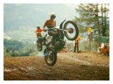 Bulltaco Motorcycle MX Reproduction procédé giclée par Giovanni Perrone