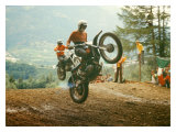 Bulltaco Motorcycle MX Giclee Print by Giovanni Perrone