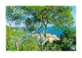 Paesaggio a Bordighera Prints by Claude Monet