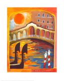 Ponte di Rialto Prints by Rosina Wachtmeister