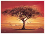 Namib Art by Leon Wells