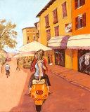 Lovers in Italy Posters av Steff Green