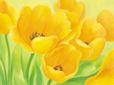 Spring Tulips Posters by Susanne Bach