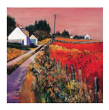 Farm Tracks Limited Edition by Davy Brown