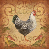 Pollo Caliente I Prints by Elizabeth King Brownd