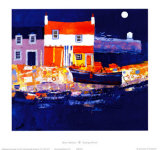 Puerto azul Láminas coleccionables por George Birrell
