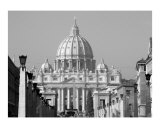 St. Peter's Basilica at Christmas Photographic Print by Donna Corless