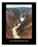 Lower Falls of the Yellowstone River Photographic Print by Eric Hansen