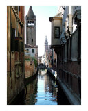 Two Towers on the Canal Photographic Print by Donna Corless