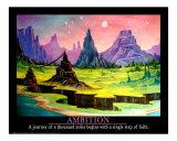 Ambition Giclee Print by Ben Glenn
