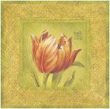 Golden Tulip Prints by Lauren Hamilton