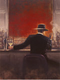 Cigar Bar Print van Brent Lynch