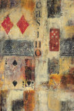 Casino Abstract Prints by Jane Bellows