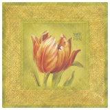 Golden Tulip Detail Posters by Lauren Hamilton