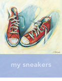My Sneakers Poster by Catherine Richards